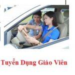 Tuyển giáo viên dạy thực hành lái xe ô tô