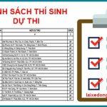Danh sách A1 khóa 36 A2019 – Hội Đồng Thái Sơn