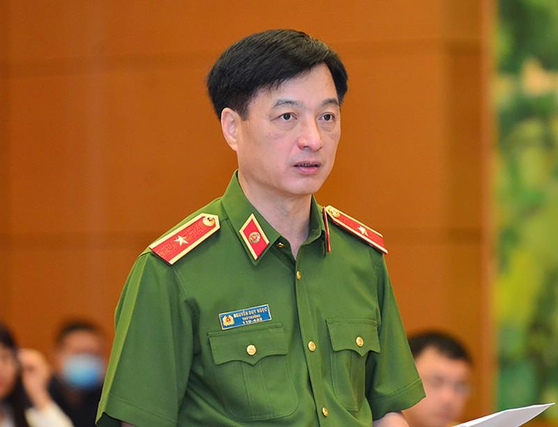 Theo Thứ trưởng Bộ Công an Nguyễn Duy , người dân có thể học lái xe, đăng ký sát hạch ở đâu cũng được. Ảnh: Quochoi.vn